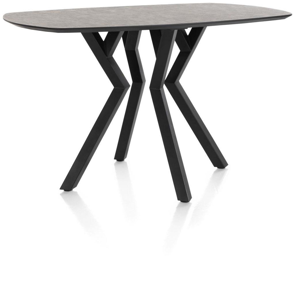 Table de bar design métal et plateau couleur anthracite