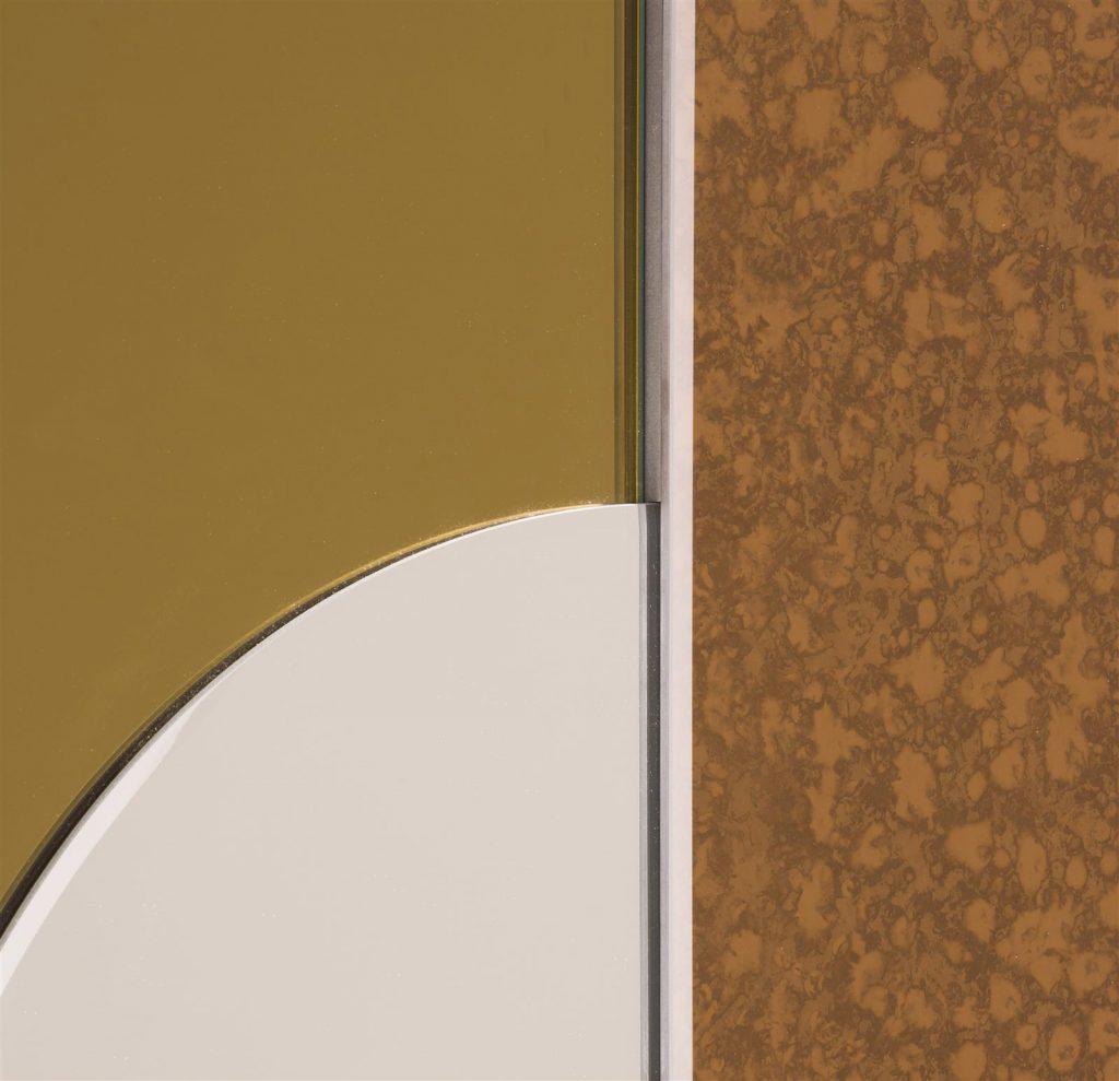 Miroir 3 pièces géométriques original et moderne