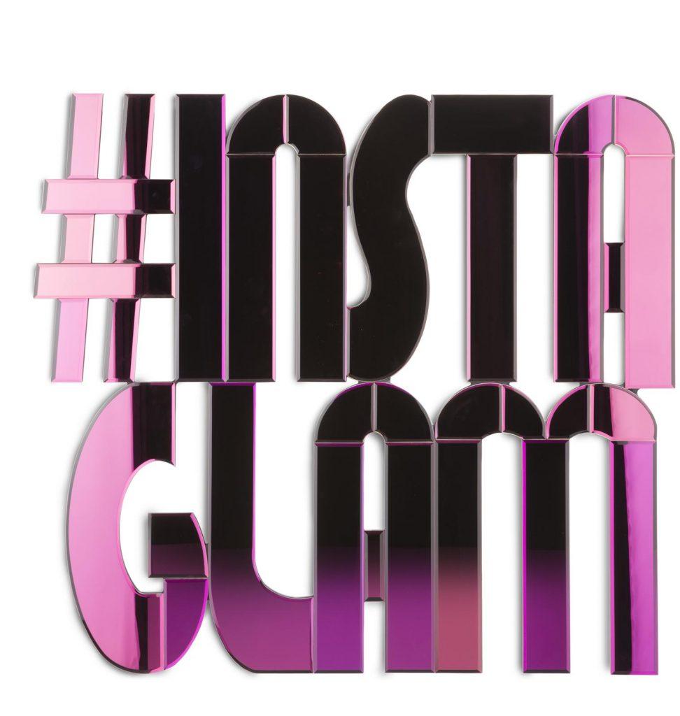 Miroir hashtag instagram rose