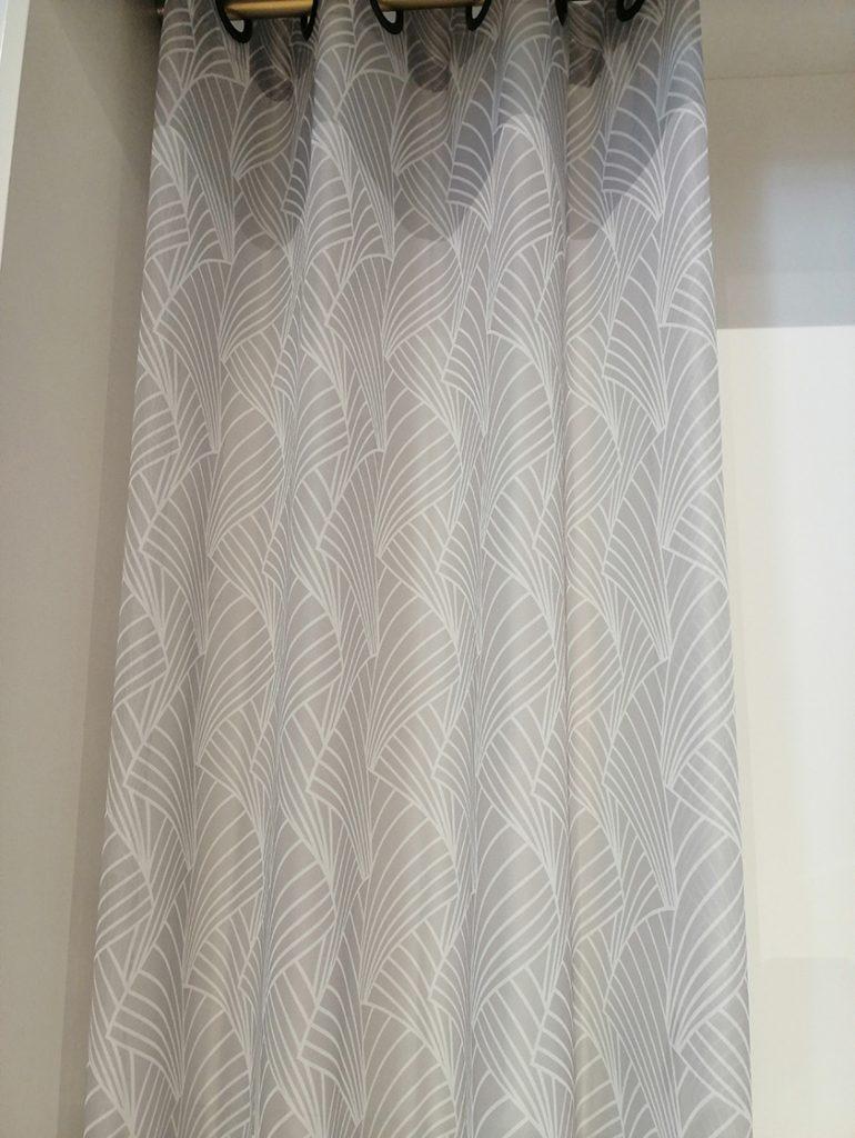Voila blanc motifs géométriques modernes
